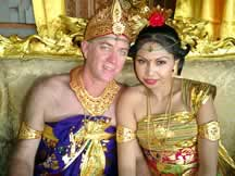 Bali wedding photo